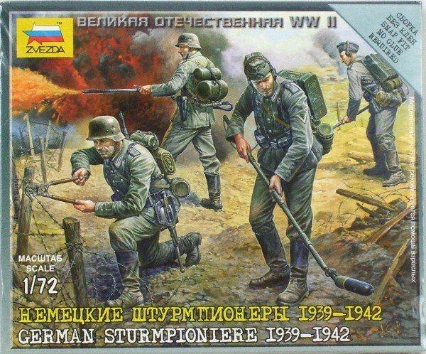 ZVEZDA German Sturmpiobi ere 1939-1942