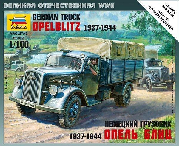 ZVEZDA German 3t Opel Blitz Cargo Truck