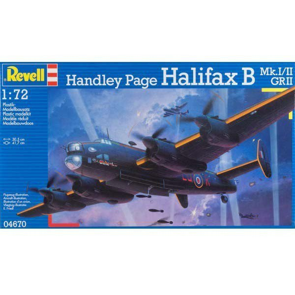 REVELL Handley Page Hali fax B Mk.I/II