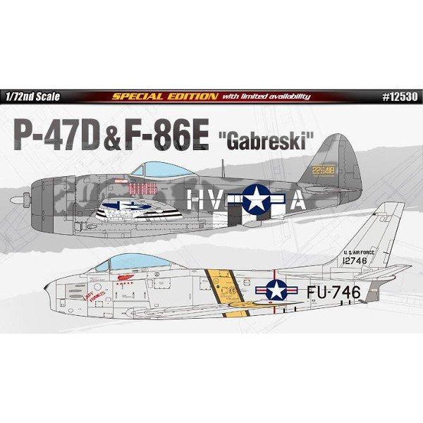 ACADEMY P-47 & F-86E 'Ga berski'
