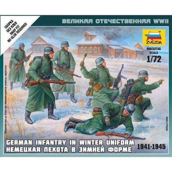 German Infantry in Winter Uniform