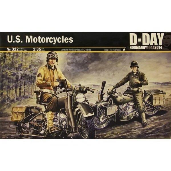 ITALERI U.S. Motorcyles WWII D-Day
