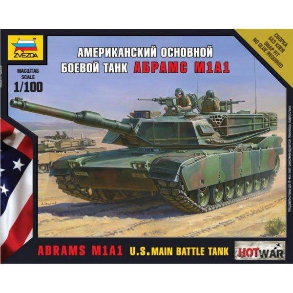 Abrams M1A1 US Main Battle Tank Hot War