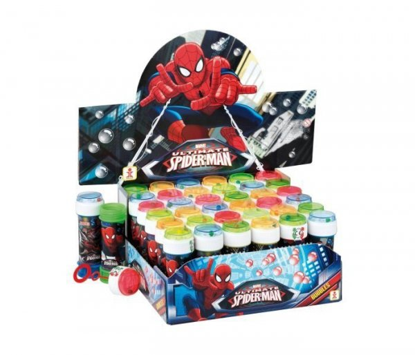 Bańki 60ml/36sztuk Spider-Man Display