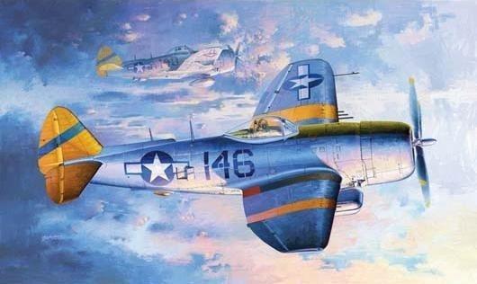 TRUMPETER P-47N Thunderb olt