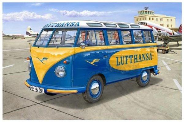 REVELL Samochód VW T1 Sa mba bus Lufthans