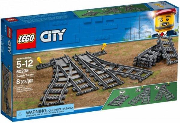 Klocki City 60238 Zwrotnice