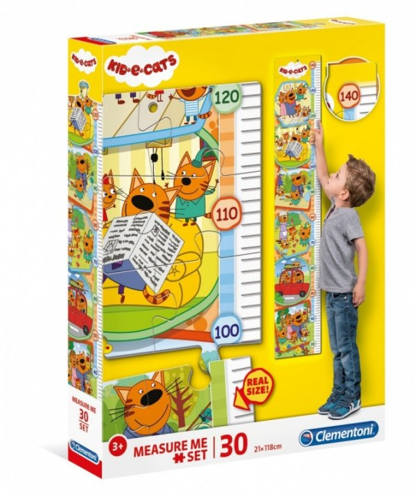 Puzzle 30 Elementów Measure Me Kid Cats