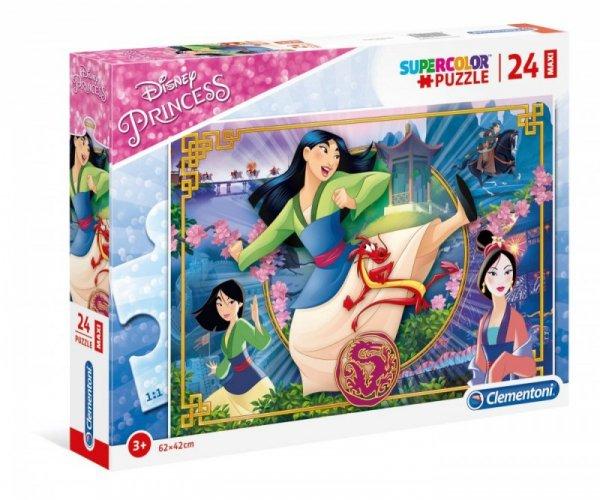 Puzzle 24 elementy Maxi Super Kolor Mulan