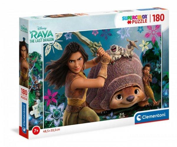 Puzzle 180 elementów Super Kolor Raya and The Last Dragon
