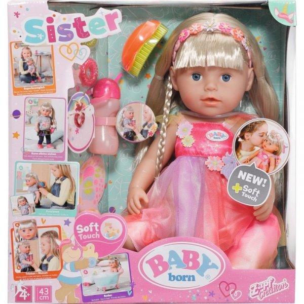 Lalka BABY BORN Soft Touch Siostrzyczka jednorożec