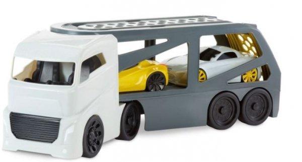 Pojazd Laweta biało-szara