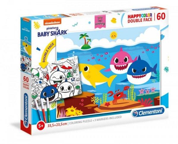 Puzzle 60 elementów Baby Shark