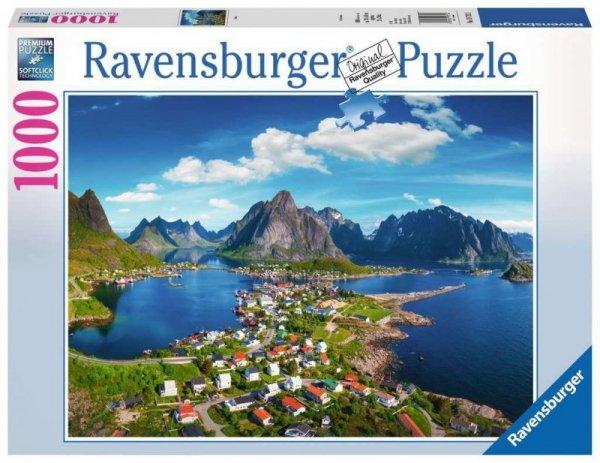 Puzzle 1000 elementów Norwegia