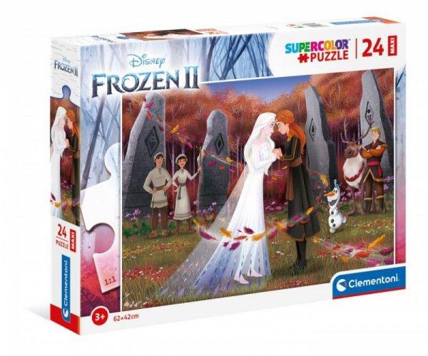 Puzzle 24 elementy Maxi Frozen 2