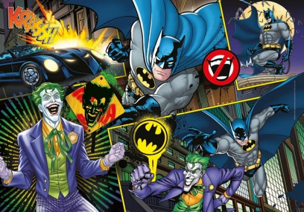 Puzzle 104 elementy Batman