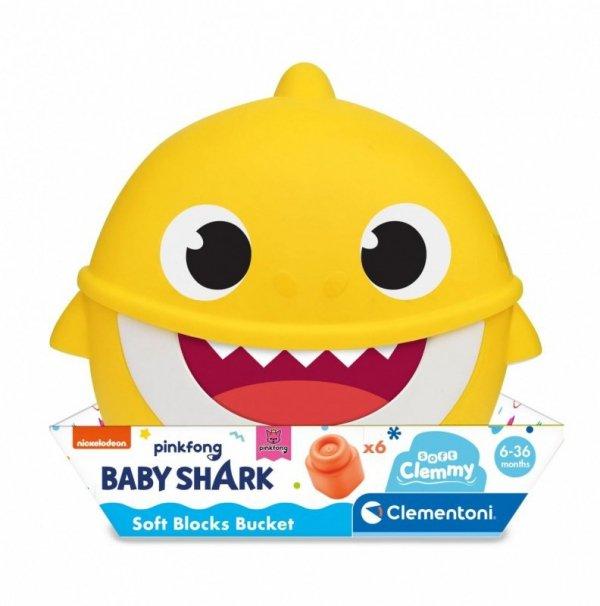 Wiaderko Clemmy z klockami Baby Shark