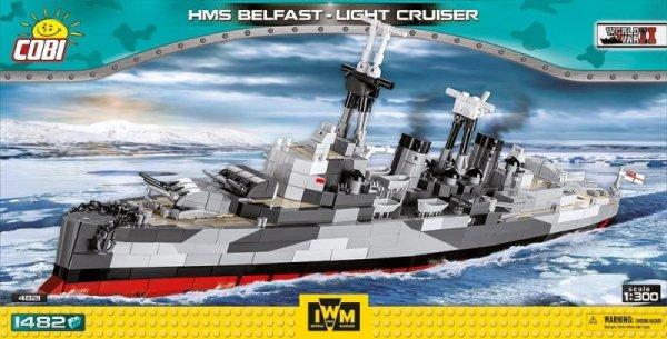 1482 elementów Krążownik HMS Belfast