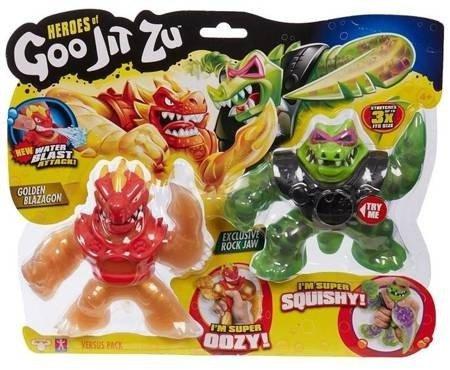 Figurka Blazagon vs Rock Jaw dwupak Goo Jit Zu