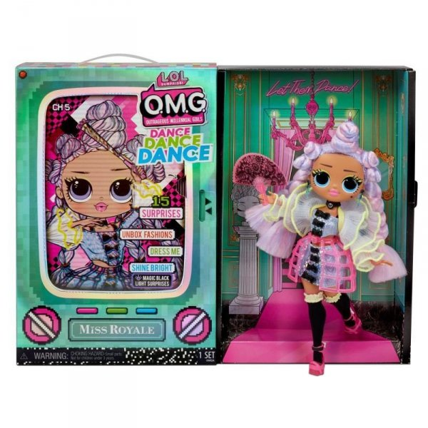 Laleczka L.O.L. Surprise OMG Dance Doll, Miss Royale