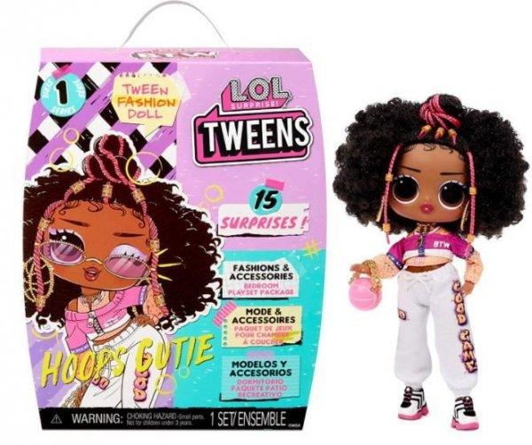 Lalka L.O.L. Surprise Tweens Doll, Hoops Cutie