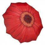 Red Daisy - czerwona gerbera - parasolka składana Galleria