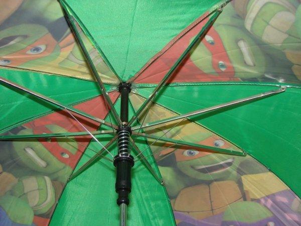 Wojownicze Żółwie Ninja - parasolka dziecięca