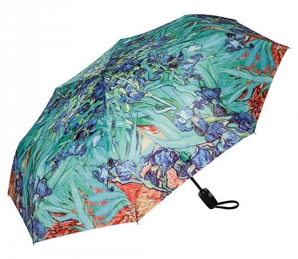 "Van Gogh ""Irysy"" parasolka składana full-auto Von Lilienfeld"