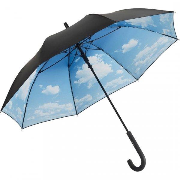 Chmury - długi parasol na deszcz i słońce z filtrem UV UPF50+