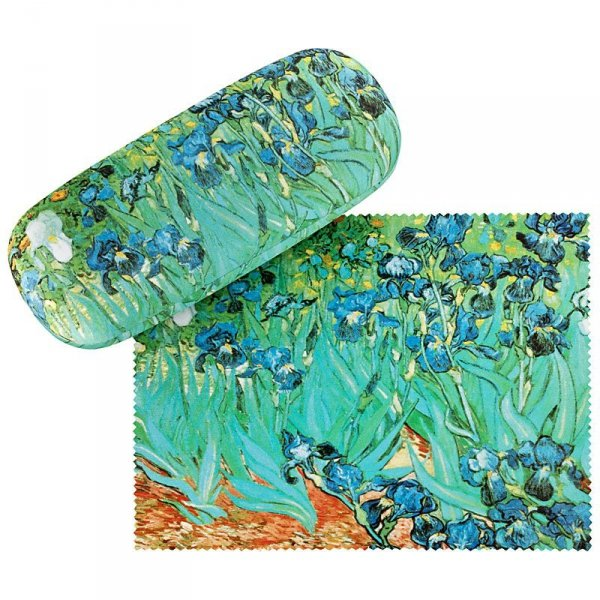 Irysy Vincent van Gogh - etui na okulary Von Lilienfeld