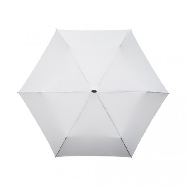 MiniMax® płaska parasolka składana biała