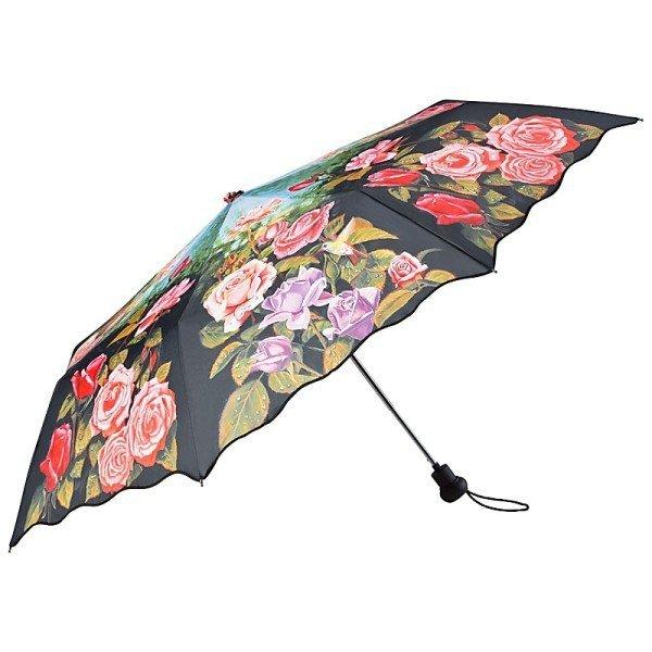 Różany ogród - parasolka składana Von Lilienfeld