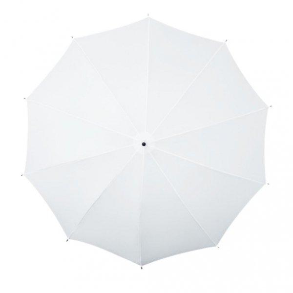 Falcone® biały parasol z paskiem na ramię