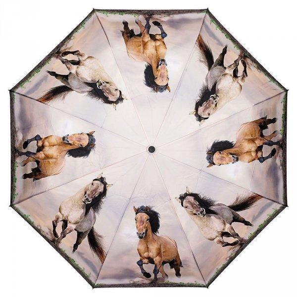 Dzikie konie - parasolka składana full-auto Von Lilienfeld