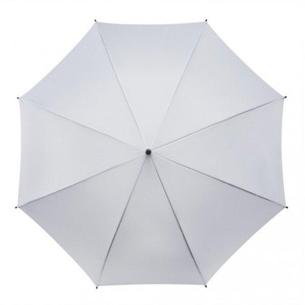 Falconetti® biała gładka parasolka automatyczna