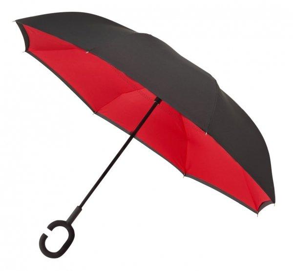 SuperBrella czerwony parasol odwrotny Impliva