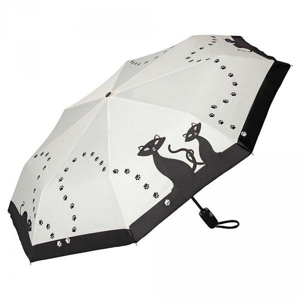Czarne koty - parasolka składana full-auto Von Lilienfeld