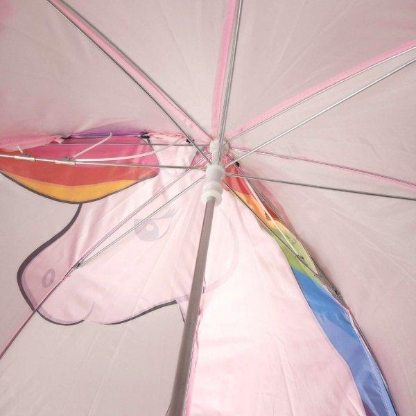 Tęczowy jednorożec parasolka dziecięca