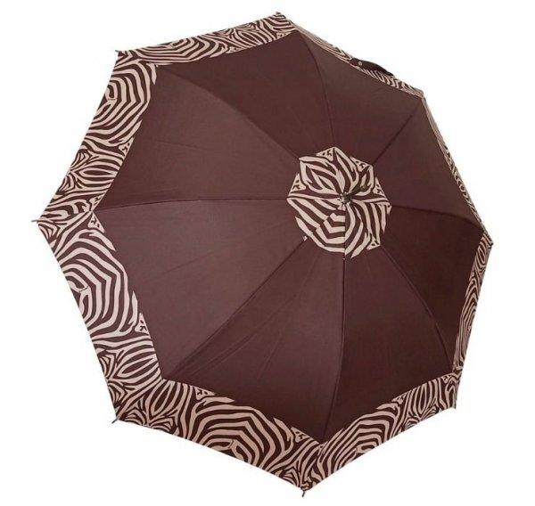 Zebra parasol damski długi automat DA104