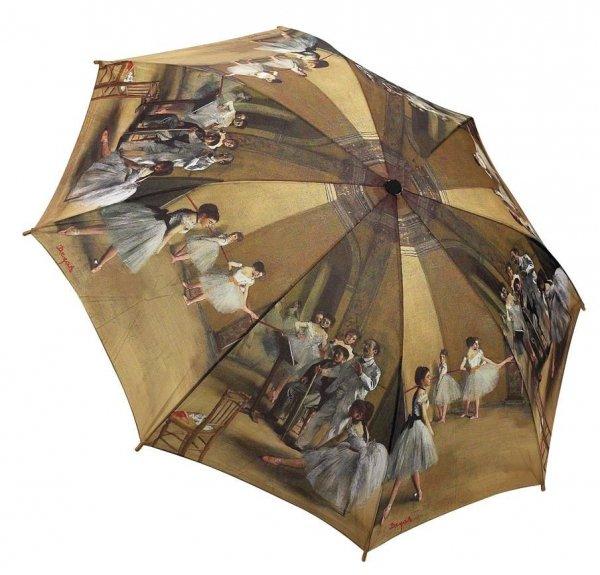 Lekcja baletu Degas - parasolka składana Galleria