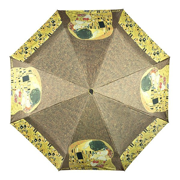 Pocałunek Gustav Klimt - parasolka składana