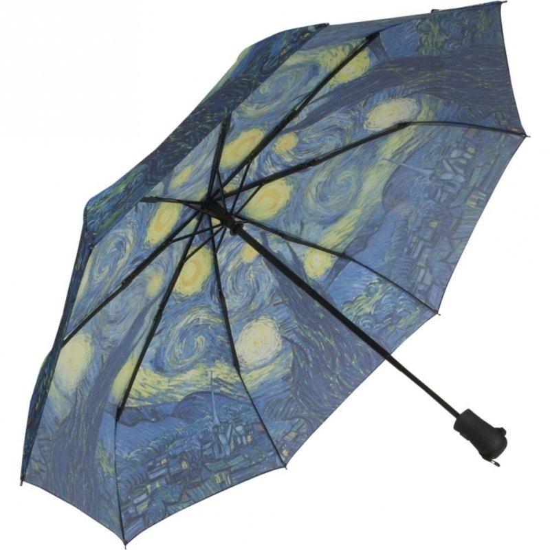 Gwiaździsta noc Vincent van Gogh - parasolka składana Galleria