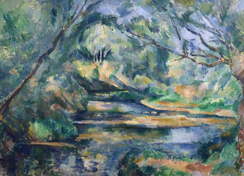 Paul Cezanne - The Brook