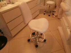 Pokrowiec kosmetyczne na krzesełko z wysokim oparciem