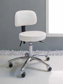 Pokrowce kosmetycznena krzesełko Gharieni 42505 frotte białe