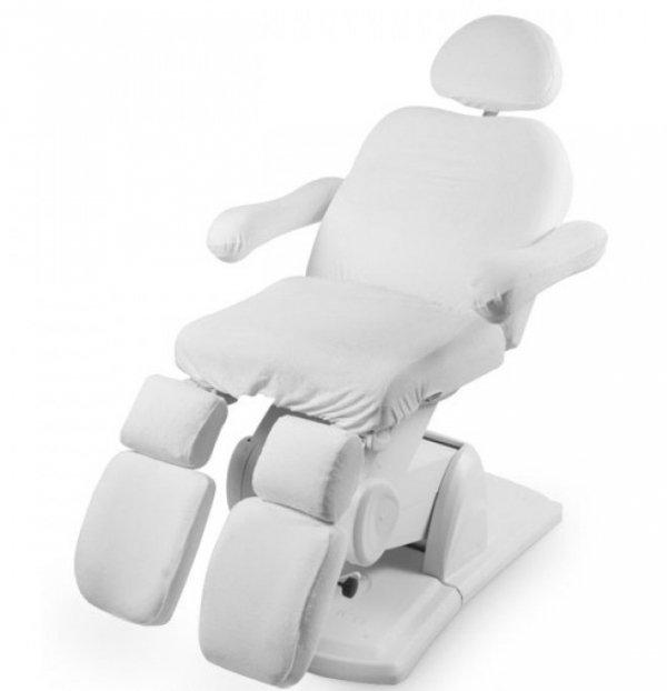 Pokrowiec welurowy na fotel kosmetyczny