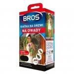Siatka na drzwi przeciw owadom Bros 140x220 czarna