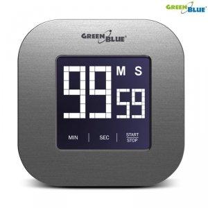 GB524 46005 Cyfrowy timer stoper  minutnik magnetyczny z dotykowym ekranem