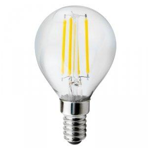 Żarówka LED Maclean, filamentowa E14, 6W, 230V, WW ciepła biała 3000K, 600lm, Retro edison ozdobna G45, MCE282