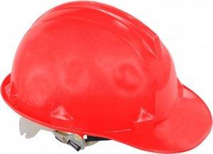 Hełm przemysłowy ochronny, czerwony, kat. ii, ce, lahti